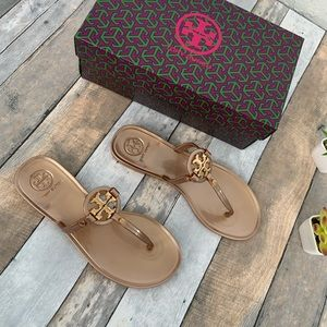 Tory Burch Shoes - •Tory Burch • New! Mini Miller Sandals • Rose Gold